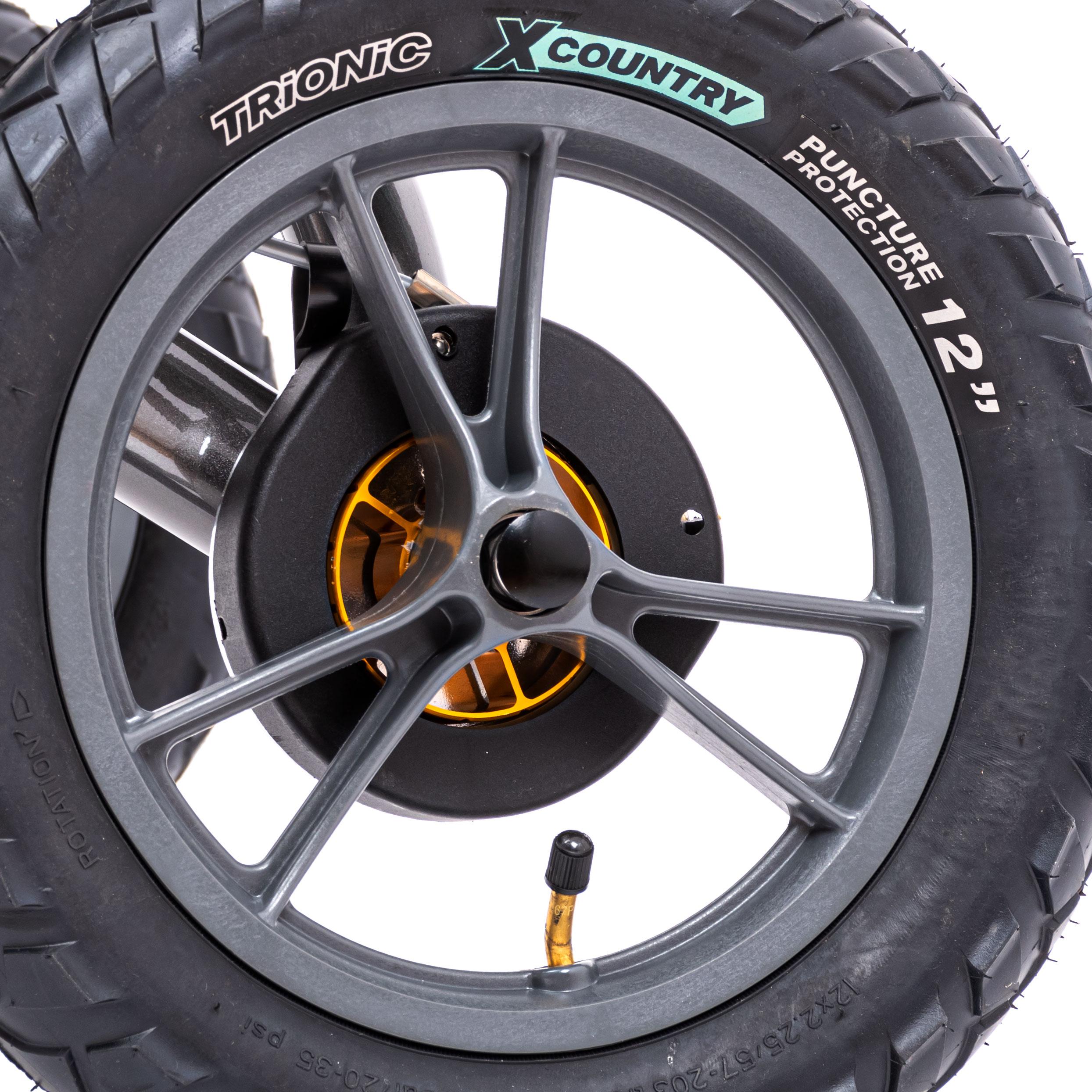공기압 타이어 입니다.