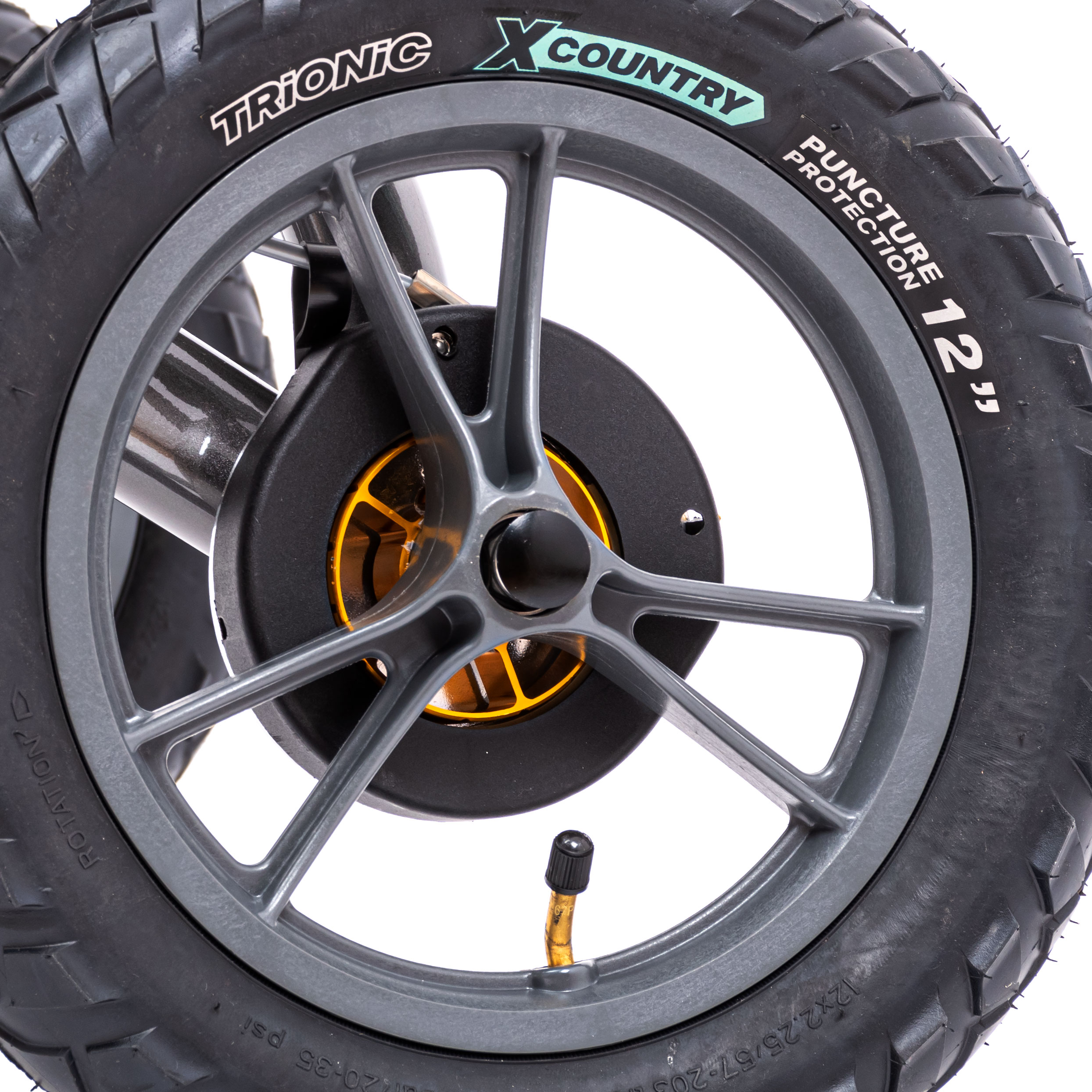 Les pneus à air comprimé