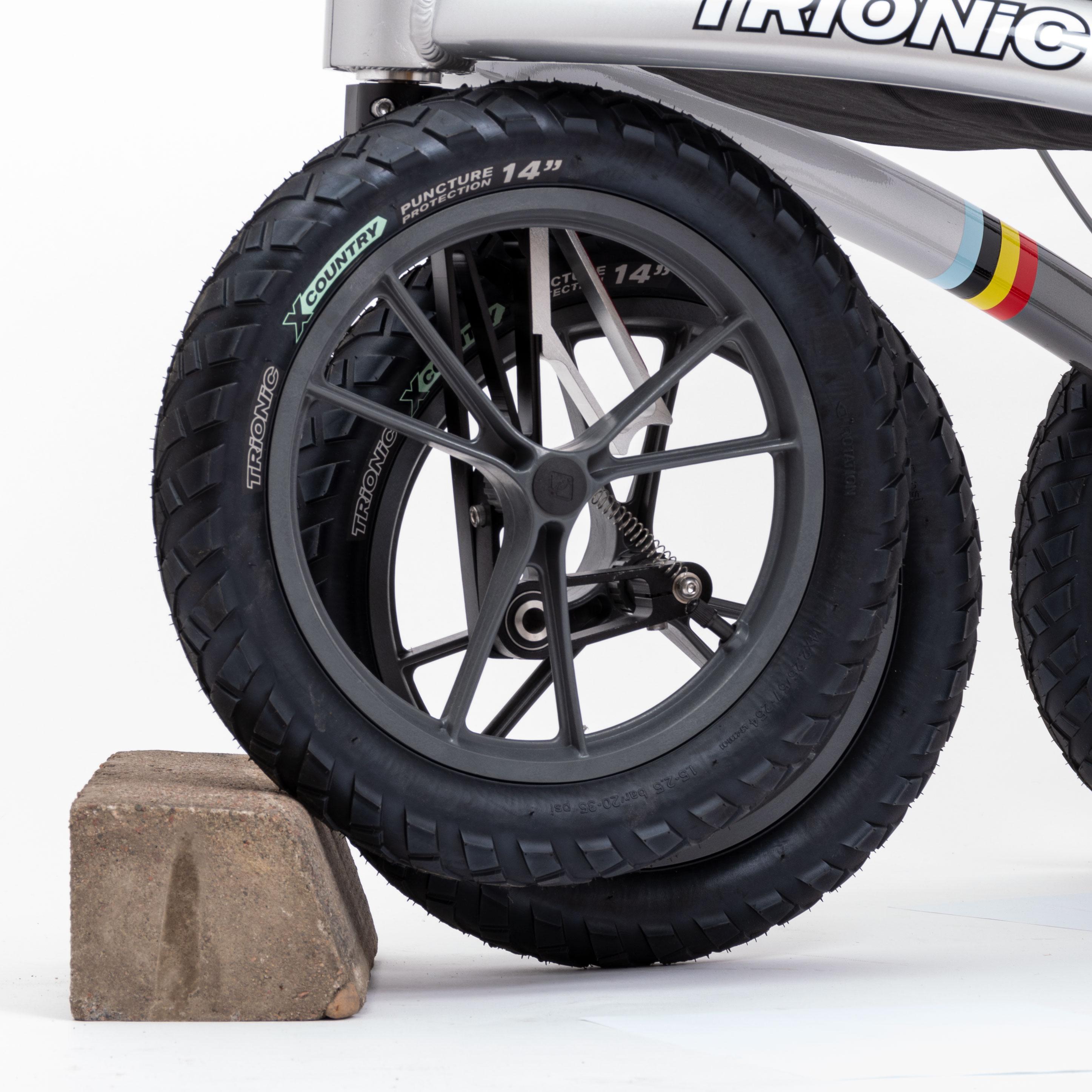 La roue grimpante Trionic