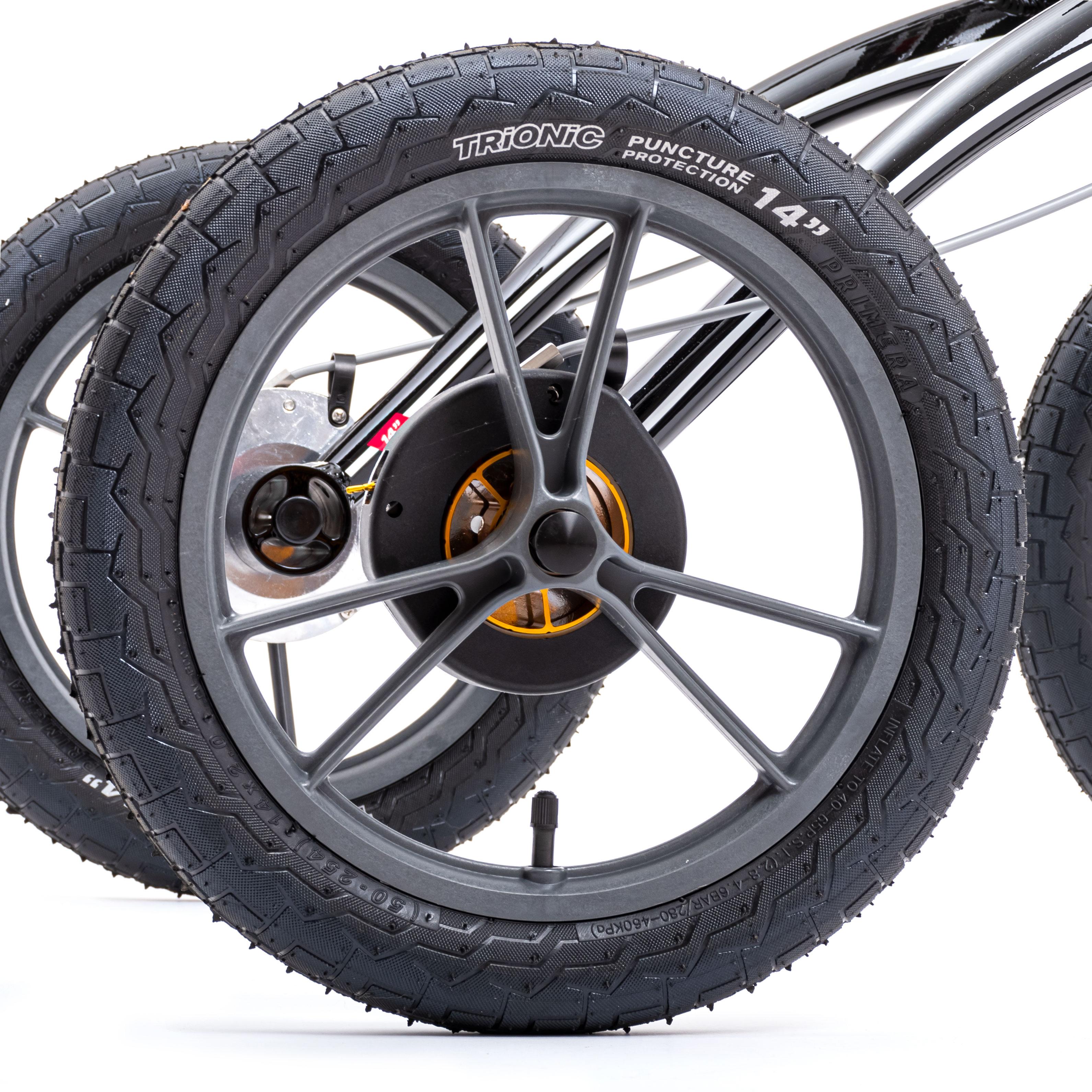 Размер колес имеет значение