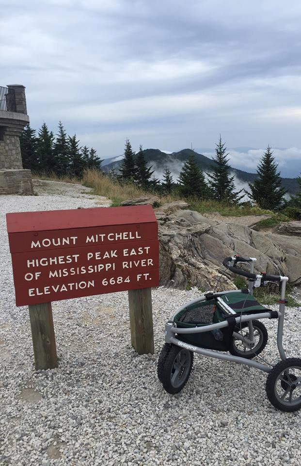 米切尔山攀登
